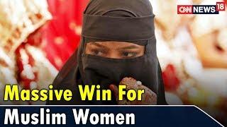 Massive Win For Muslim Women | Epicenter | CNN News18 - IBNLIVE