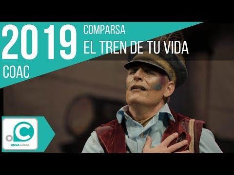 La agrupación El tren de la vida llega al COAC 2019 en la modalidad de Comparsas. Primera actuación de la agrupación para esta modalidad.
