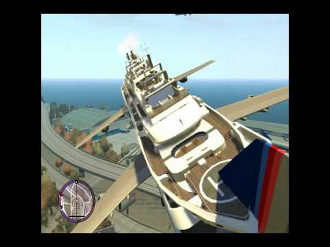 Big yacht the flyng boat gta4 Montage TITANIC