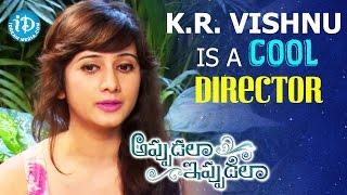 K.R. Vishnu Is A Cool Director - Harshika Poonacha || Talking Movies with iDream - IDREAMMOVIES