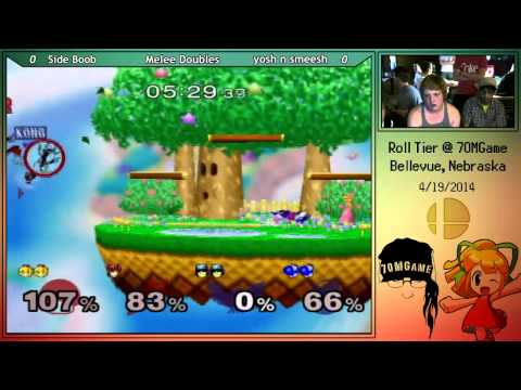Side Boob vs Yosh n Smeesh Melee Doubles