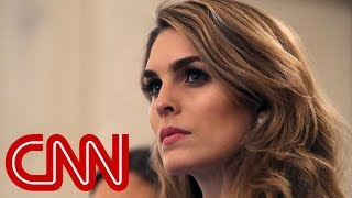 Hope Hicks to cooperate with Dems' Trump probe - CNN