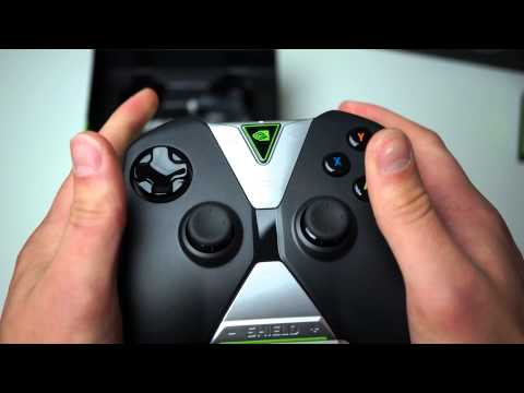 NVIDIA SHIELD Tablet and Controller Unboxing, Hands-on