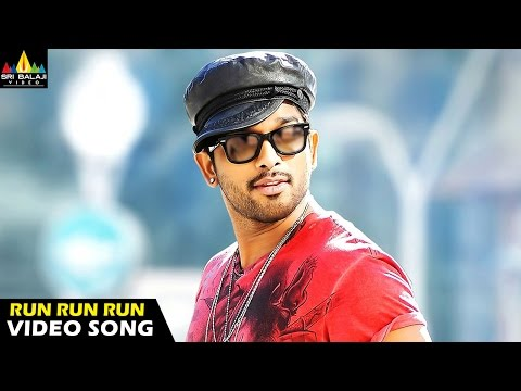 Run Run Video Song - Iddarammayilatho Movie (Allu Arjun, Amala Paul, Catherine Tresa) - 1080p