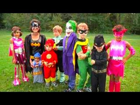 Halloween Costumes for Kids | Superheros 2013