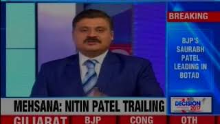 Gujarat Assembly Election Results: Congress leading in 67 seats. BJP ahead in 95 seats - NEWSXLIVE