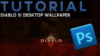 Photoshop - Diablo 3 Desktop Wallpaper (Romana) - English Subtitle (PSD Available)