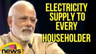 I Will Give Electricity Supply to Every household Appliances says PM Modi | Mango News - MANGONEWS