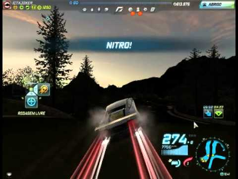 Need For Speed World Capotando com Lamborghini '-'