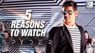 5 Reasons To Watch Mahesh Babu's SPYder | Rakulpreet - LEHRENTELUGU