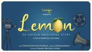 Lemon An Untold Emotional Story | Latest Telugu Short Film 2019 | New Telugu short film | Lemon Soda - YOUTUBE