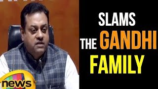 Sambit Patra Slam The Gandhi Family On Democracy | Mango News - MANGONEWS