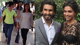 Ranveer Singh takes Deepika Padukone's family to shop for her birthday | EXCLUSIVE