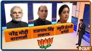 Elections 2019: BJP ने जारी की लोक सभा चुनाव उम्मीदवारों के पहली लिस्ट,  देखिये किसे मिली कौनसी सीट - INDIATV