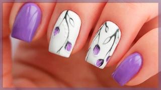 Дизайн ногтей простой и красивый пошагово