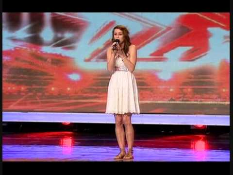 X FACTOR 2009 LUCIE JONES SINGS I WILL ALWAYS LOVE YOU
