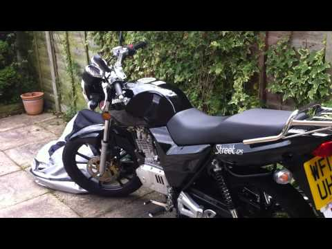 Motorcycle For Sale 125cc Lexmoto Street