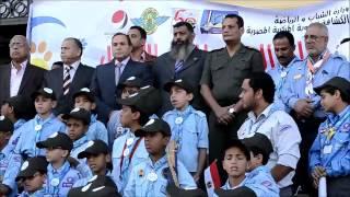 محافظ الإسماعيلية يستقبل وفد أعضاء جمعية الكشافة الجوية المركزية المصرية