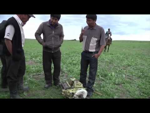 Raw: Plane Crashes into Kyrgyzstan Pasture
