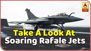 Bengaluru: Take a look at soaring Rafale jets - ABPNEWSTV