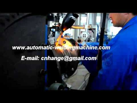 Automatic Welding Machine for Pipe Flanges