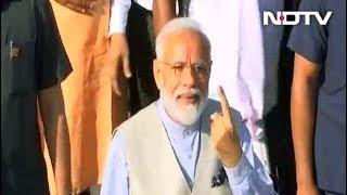 गुजरात: पीएम मोदी पर आचार संहिता तोड़ने का आरोप - NDTVINDIA