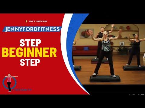 STEP AEROBICS - STEP by STEP - JENNY FORD
