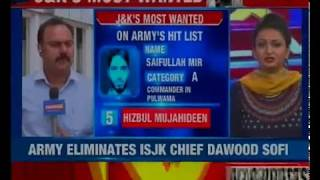 J&K's most wanted: Forces take charge in J&K; NewsX accesses most wanted list - NEWSXLIVE