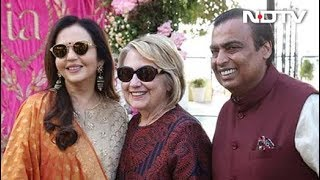 Hillary Clinton In Udaipur For Isha Ambani's Pre-Wedding Party - NDTV