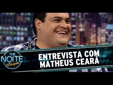 The Noite (25/09/14) - Entrevista com Matheus Ceará