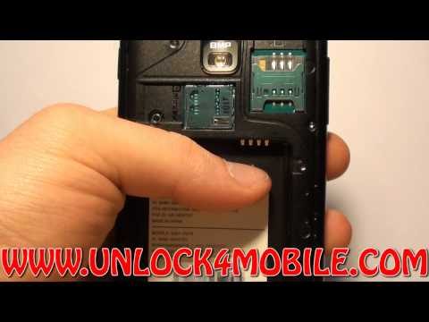 How To Unlock Samsung Galaxy s2 II LTE i9100 In 1 MINUTE using UNLOCK4MOBILE.COM