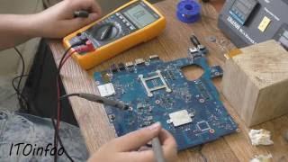 Диагностика и ремонт ноутбука Samsung NP300E5C