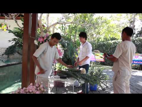 Gading & Gissela wedding party at Tirtha Bridal || Behind the Scene