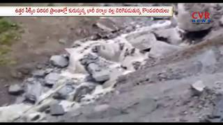 Heavy Rainfall Triggers landslides in Sikkim | Road Transport Severely Hit | CVR NEWS - CVRNEWSOFFICIAL
