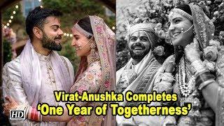 Virat - Anushka Completes 'One Year of Togetherness - IANSINDIA