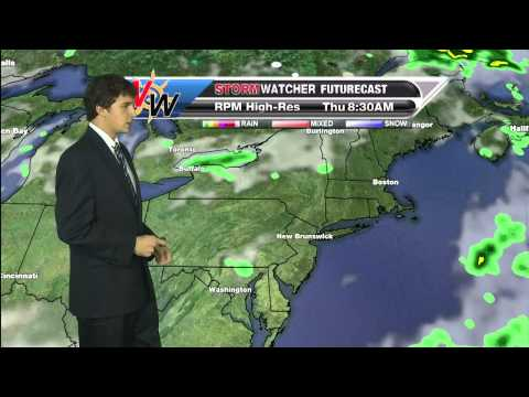 Wednesday Evening Forecast 9/17/14