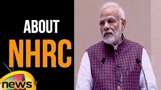 PM Modi Speech at NHRC Silver Jubilee Foundation Day Function | Modi About NHRC | Mango News - MANGONEWS