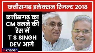 Chhattisgarh Election Results 2018: छत्तीसगढ़ का CM बनने की रेस में T S Singh Dev आगे - ITVNEWSINDIA