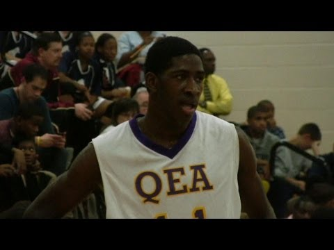 Jason Boswell Quality Education Academy Basketball Highlights - Charlotte Hoops Challenge