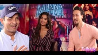 Tiger Shroff CONFESSES His Love For Singing & Sings 'BEFIKRA'   Nidhhi Agerwal  Munna Michael - HUNGAMA