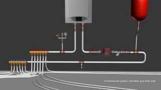 Схема коллекторного отопления