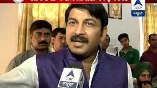 Manoj Tiwari denies giving any offers to Kumar Vihwas l AAP says BJP did - ABPNEWSTV