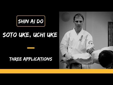 Three applications to Soto Uke, Uchi Uke
