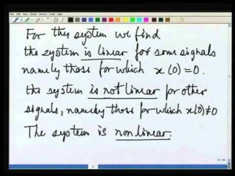 Lecture-10 Communiction Diagram As a Test For Linearity & Time Invariance
