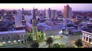 Junín, Buenos Aires. Vista desde un dron