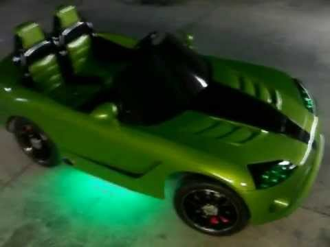 Vulgar Display Of Power Wheels Custom Kid Trax  Dodge Viper Venom part
