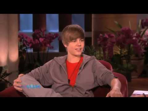 Justin Bieber on The Ellen DeGeneres Show Baby Interview