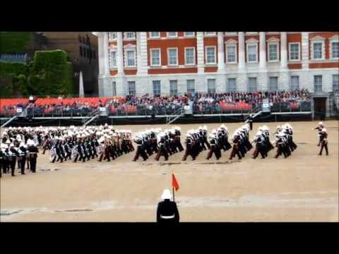 Massed Bands of H.M. Royal Marines Beating Retreat 2012 part 1