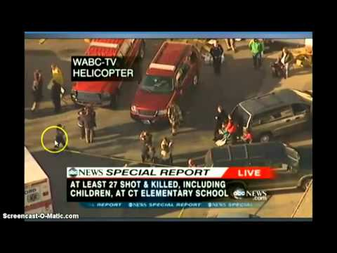 Sandy Hook Satanic Ritual Caught!!! - New Jan 2013