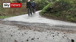The battle of the steep streets - SKYNEWS